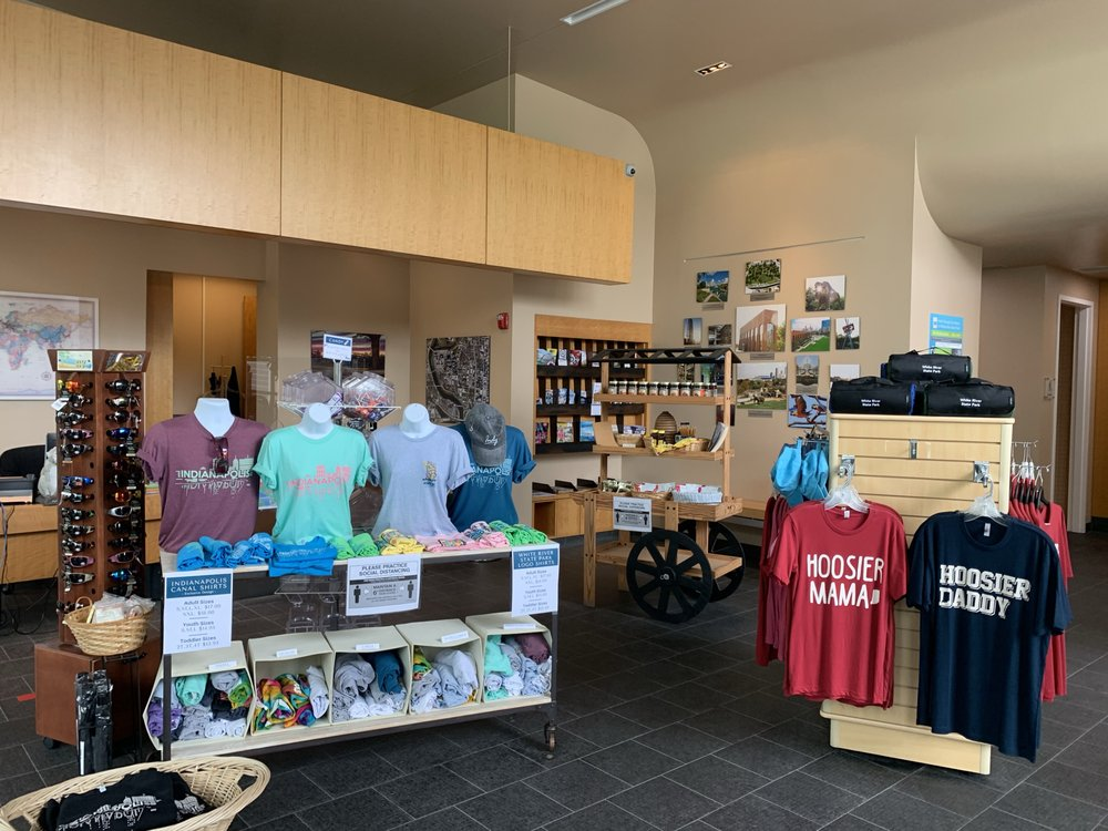 White River State Park Visitor Center: 801 W Washington St, Indianapolis, IN