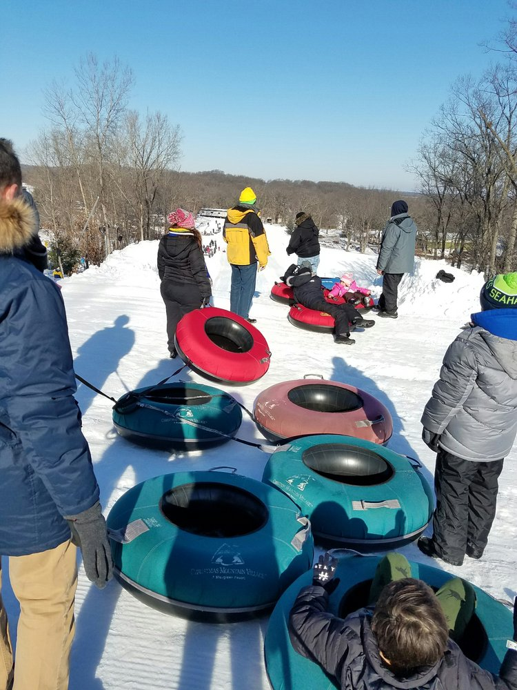photo of bluegreen vacations christmas mountain village an ascend resort wisconsin dells wi - Christmas Mountain Tubing