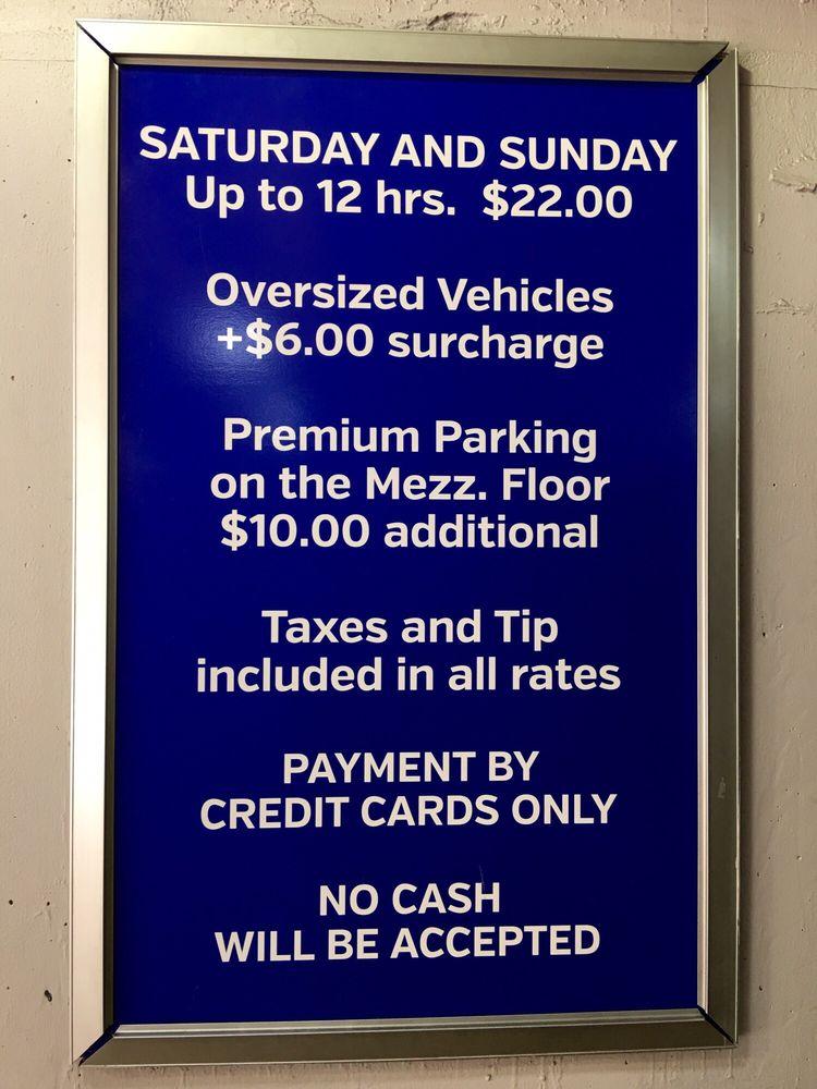 Midtown Garage Parking 1415 Sansom St Avenue Of The