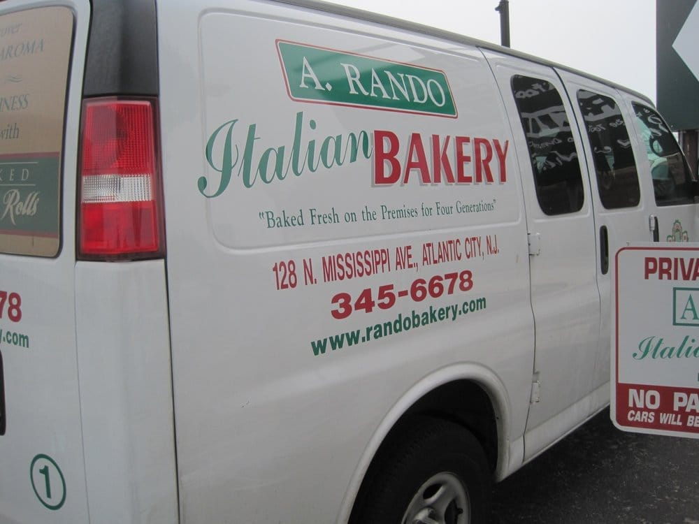 A Rando Bakery: 128 N Mississippi Ave, Atlantic City, NJ