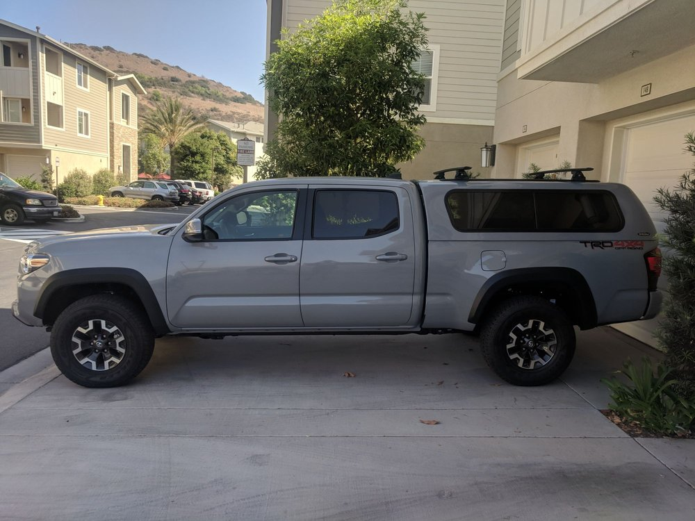 2018 Toyota Tacoma long bed with Snugtop Rebel  - Yelp