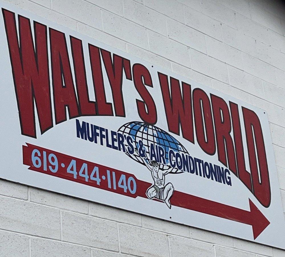 Wally's World of Mufflers & A C: 771 Greenfield Dr, El Cajon, CA
