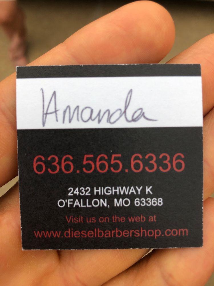 Diesel Barbershop - Highway K: 2432 Hwy K, O'Fallon, MO