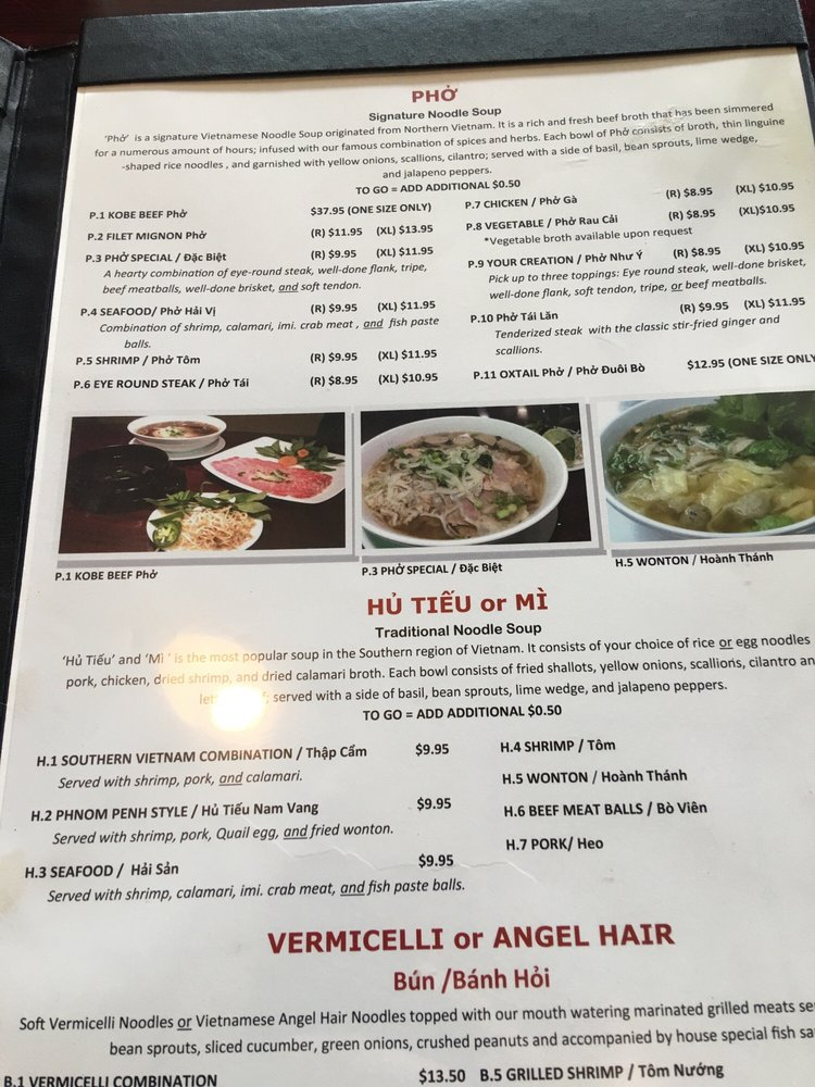 Photos for Simply Pho & Grill   Menu - Yelp