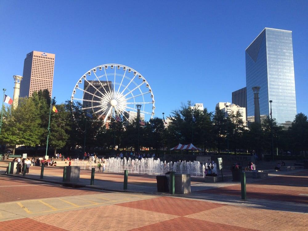Atlanta Restaurants Centennial Olympic Park