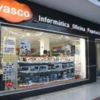 Vasco inform tica material de oficina calle de ayala for Material de oficina malaga