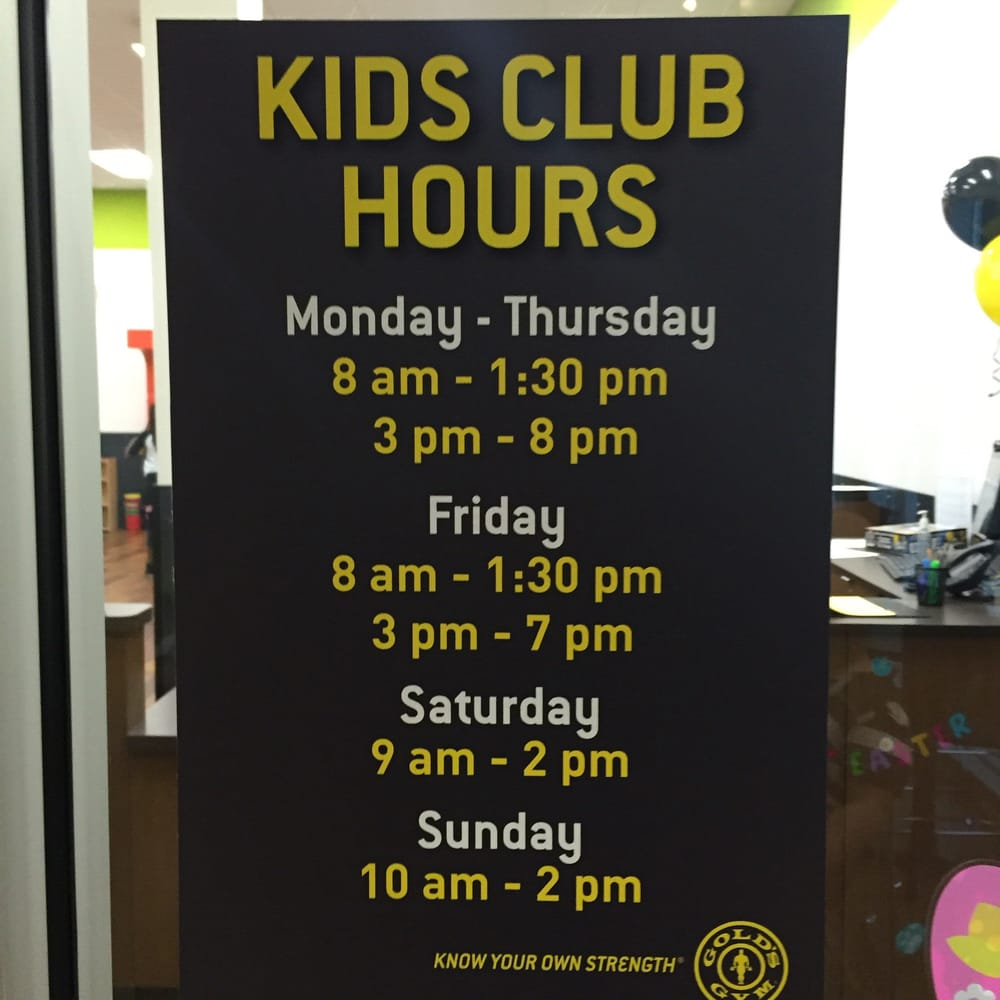 Kids Club Hours Yelp