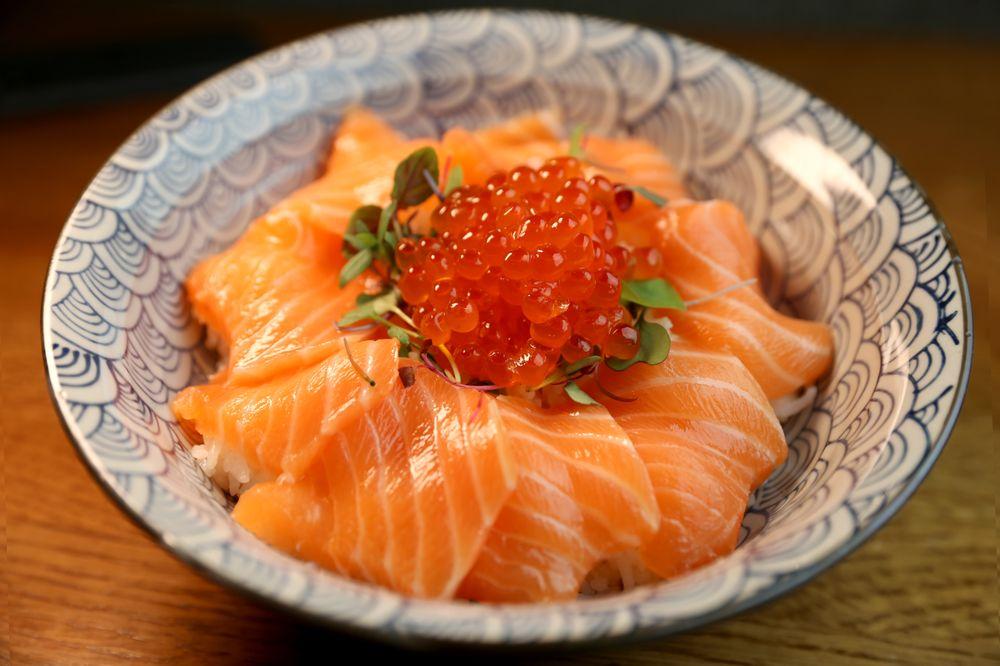 Food from Tanuki Izakaya