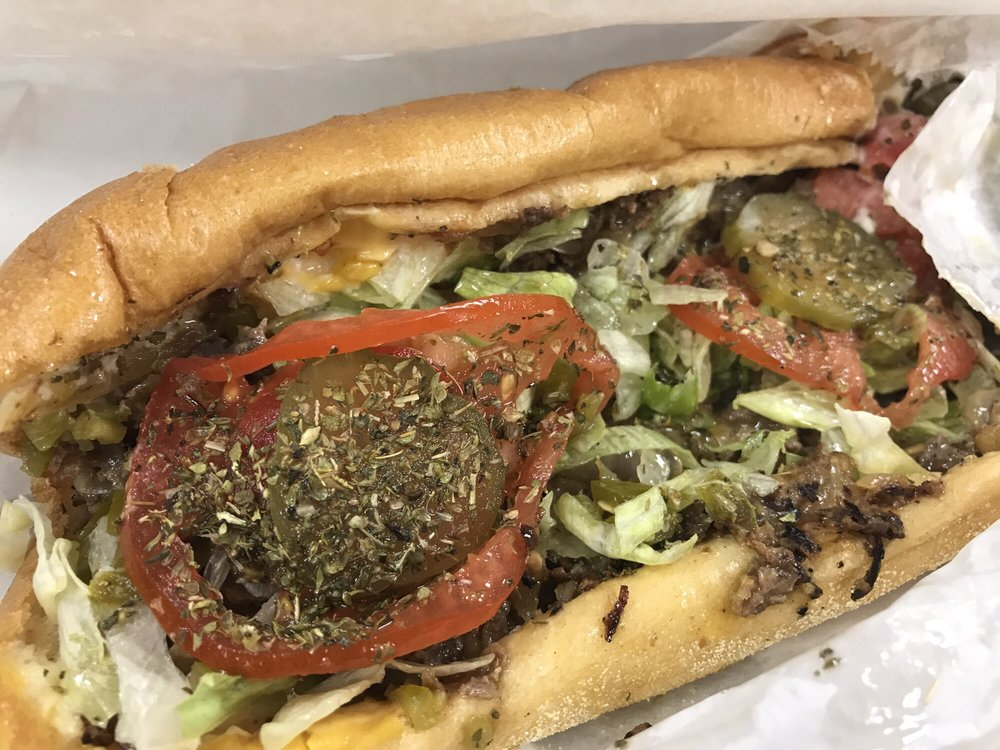 Food from Philly Style Steaks & Subs