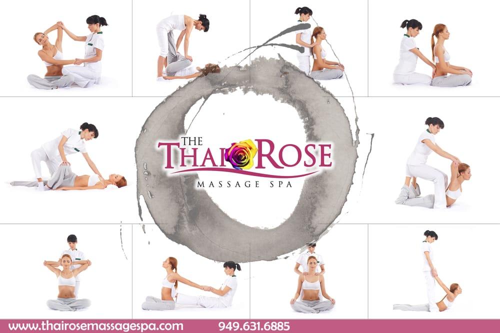 squiting thai rose massage