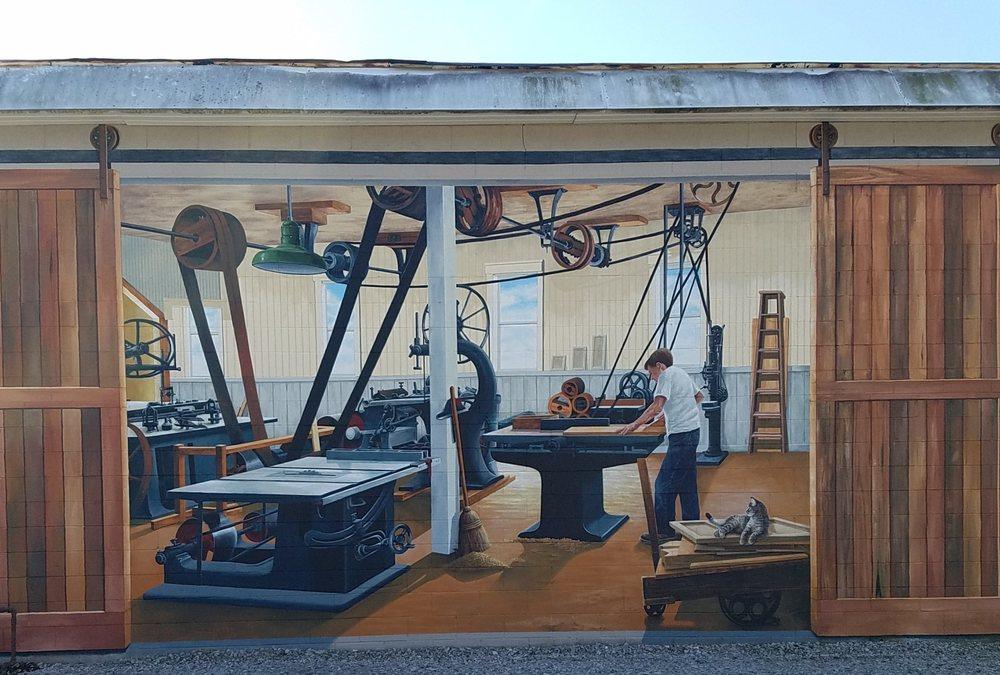 Interior Fixtures mural: 995 Barnett St, Knightsville, IN