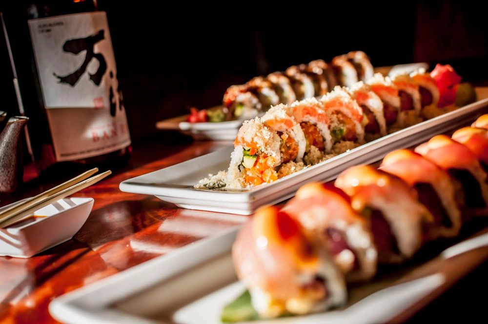 Social Spots from Crave American Kitchen & Sushi Bar