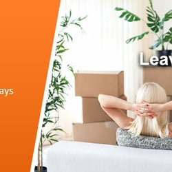 Photo Of Get Removals   London, United Kingdom. Couple Moving   Packed Boxes