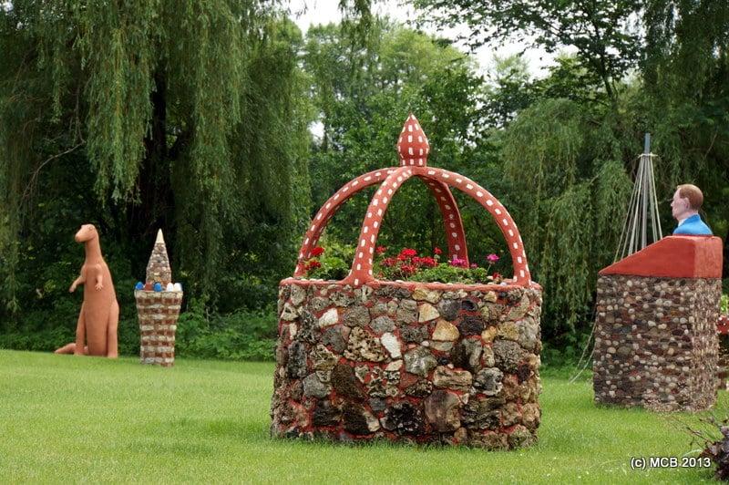 Prairie Moon Sculpture Gardens: 52727 Prairie Moon Rd, Fountain City, WI