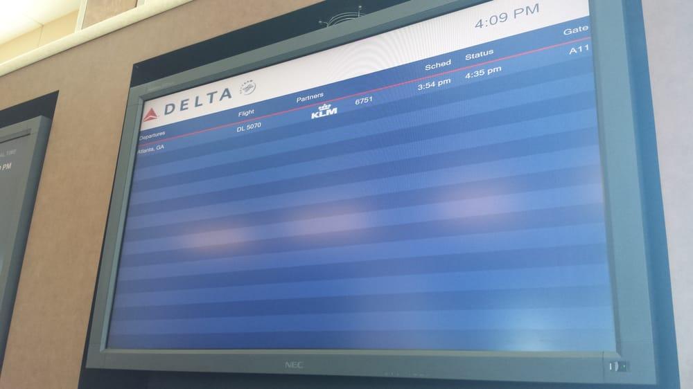 Delta Airlines: One Airport Blvd, Bentonville, AR