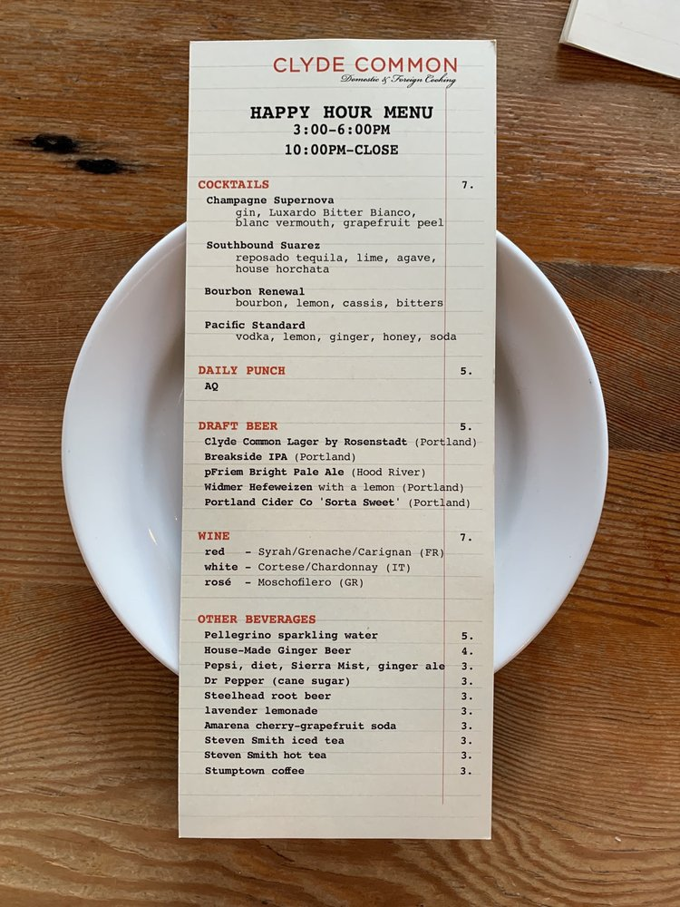Photos for Clyde Common | Menu - Yelp