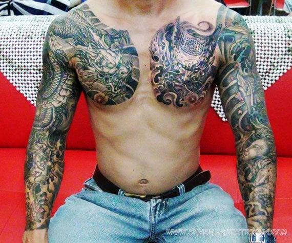 Annahang tattoo dragon