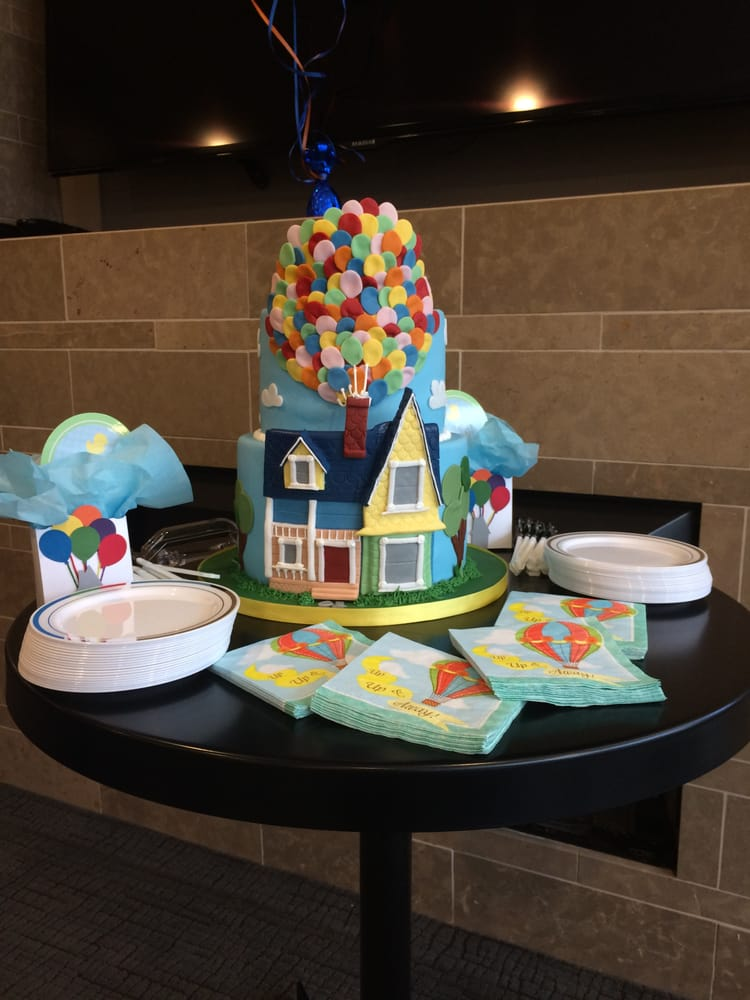 Up Themed Baby Shower Cake Yelp