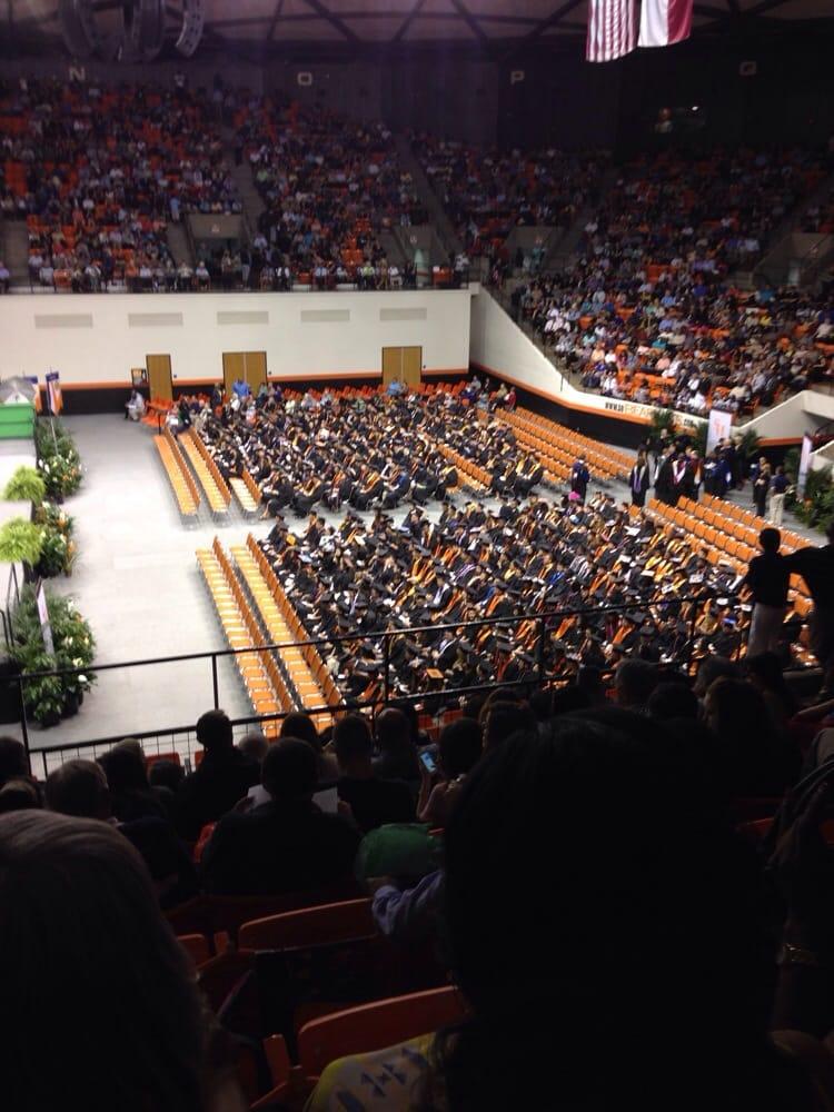 Social Spots from SHSU Bernard G Johnson Coliseum