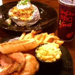 Photo Of Voodoo Bbq Metairie La United States Baked Potatoes