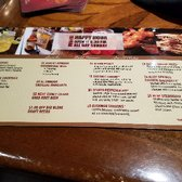 Does Outback offer anything free during happy hour?