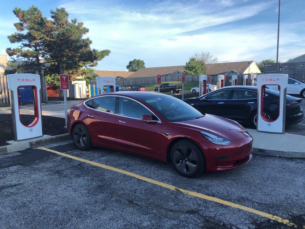 Tesla Supercharger - Grove City