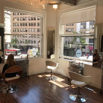 Marzia salon 30 reviews hairdressers 9 kearny st for Acabello salon san francisco ca