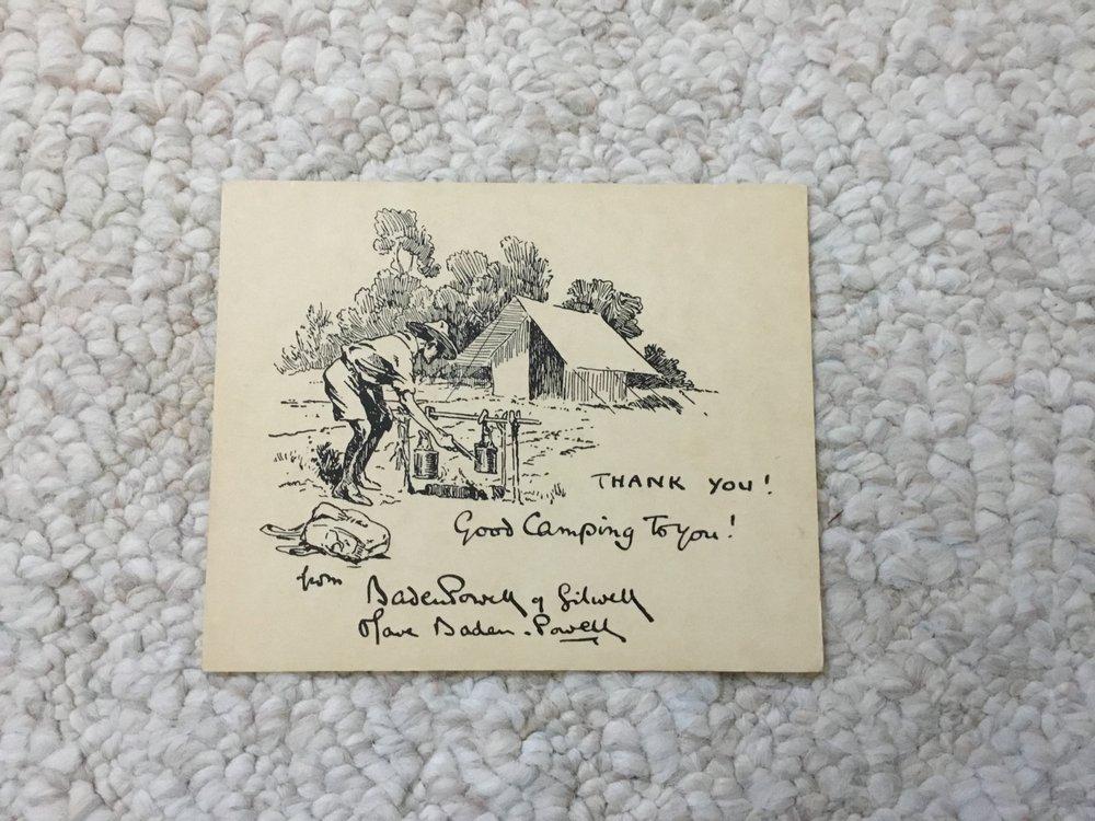 Baden Powell Hand drawn Christmas cards - Yelp