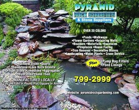 Photo For Pyramid Rock Gardening U0026 Stone Suppliers
