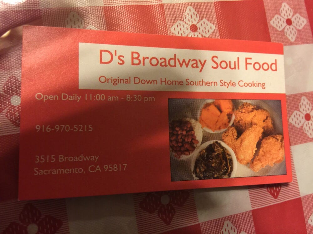 The business card for you who have no clue about true home cooked ...