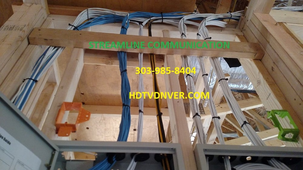 cabling wiring prewire retrofit tv home theater cctv audio rh yelp com New House Wiring Diagram structured wiring new construction