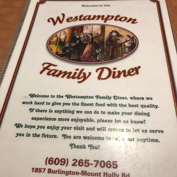Photo Of Westampton Family Diner Mount Holly Nj United States