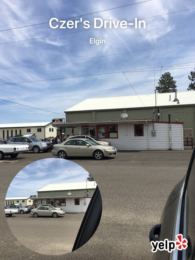 Czer's Drive-In: 14th & Division, Elgin, OR