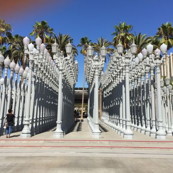 Photo Of Urban Light At LACMA   Los Angeles, CA, United States
