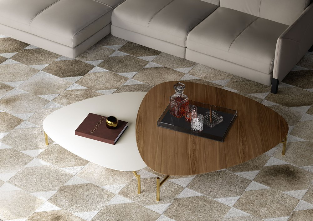 Outstanding Finsbury Low Coffee Table Almond Brass Finsbury High Gmtry Best Dining Table And Chair Ideas Images Gmtryco