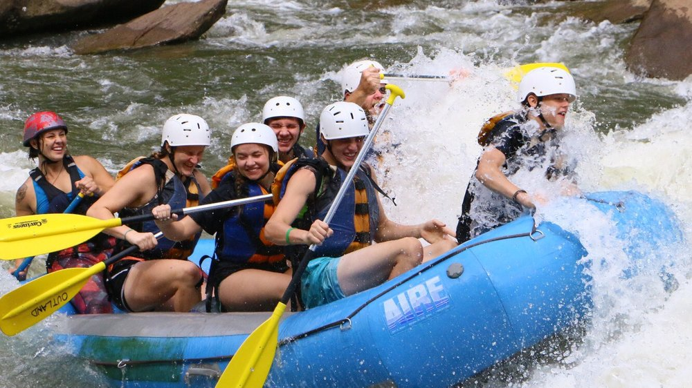 Social Spots from Outland Expeditions Ocoee River Rafting