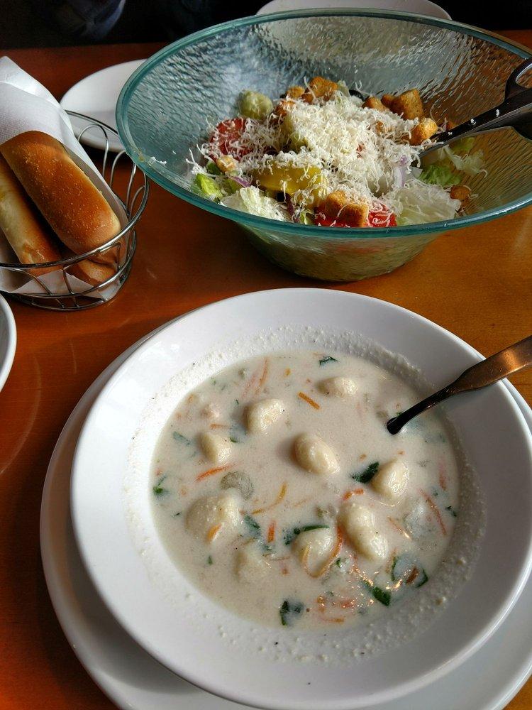 photo of olive garden italian restaurant tukwila wa united states chicken gnocchi - Olive Garden Soup Salad And Breadsticks