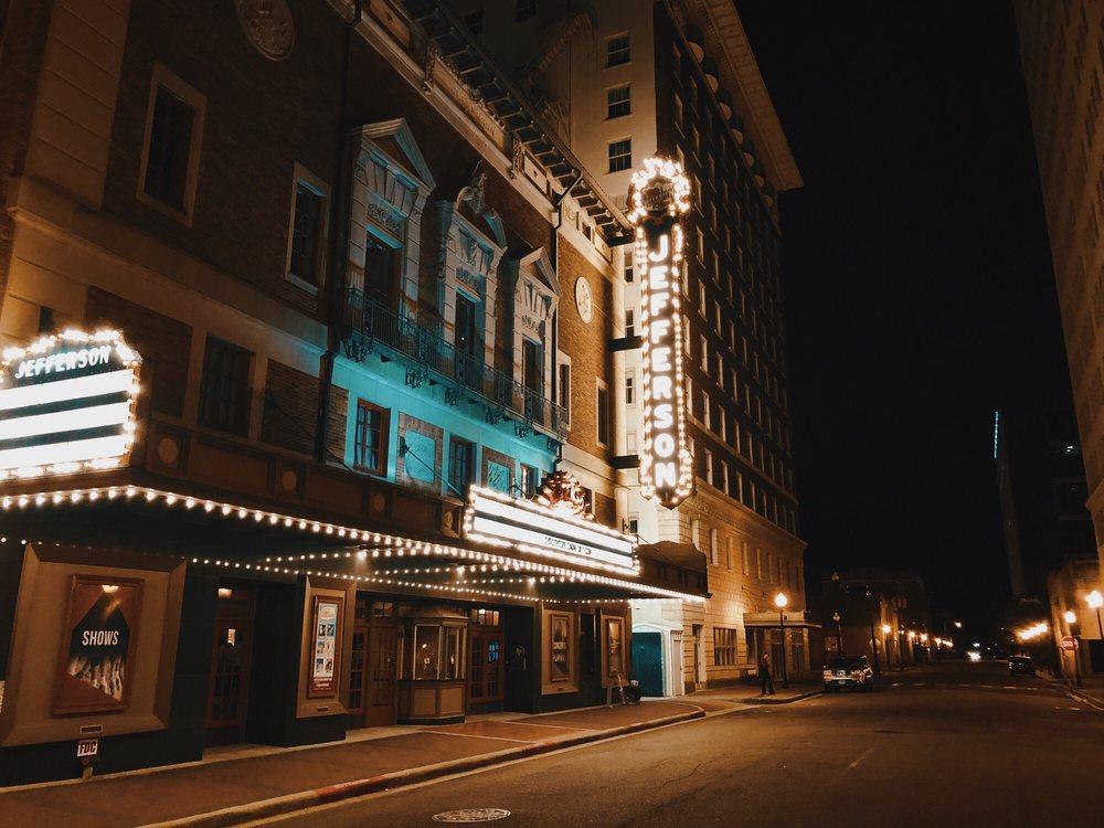Jefferson Theatre: 345 Fannin St, Beaumont, TX