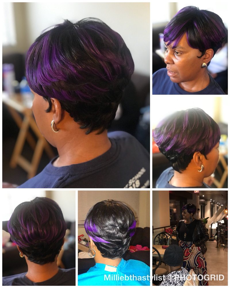 Blaque Hair Studio: 9743 Somerset Blvd, Bellflower, CA