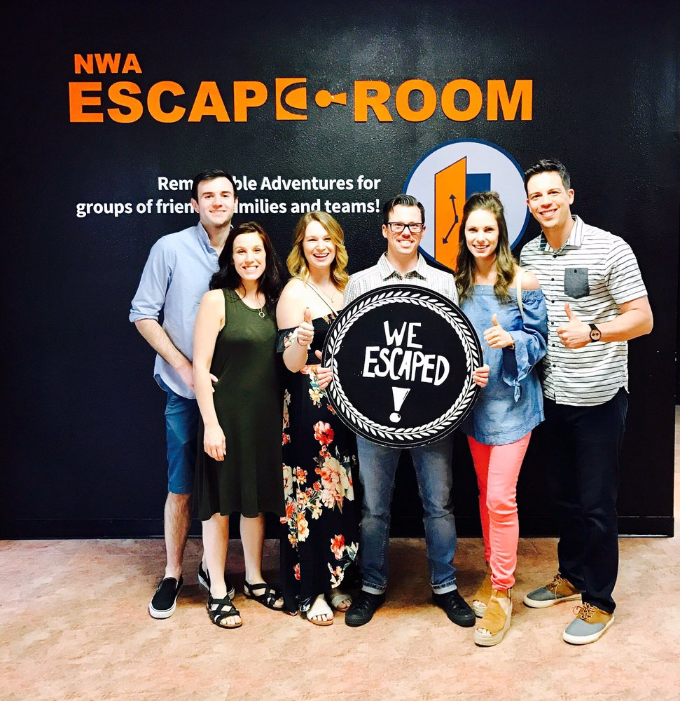 NWA Escape Room: 4083 N Shiloh, Fayetteville, AR