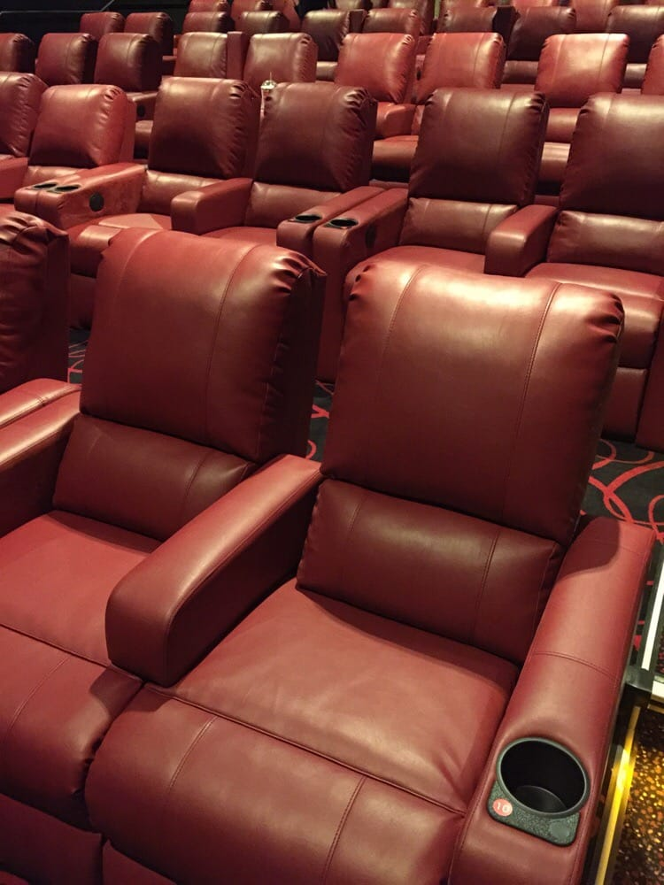 IN-THEATER DINING. With the push of a button, luxury cinema guests enjoy 'at-your-seat' waiter service. From gourmet appetizers to restaurant quality entrées, guests of our luxury cinemas experience movie-going at its finest.