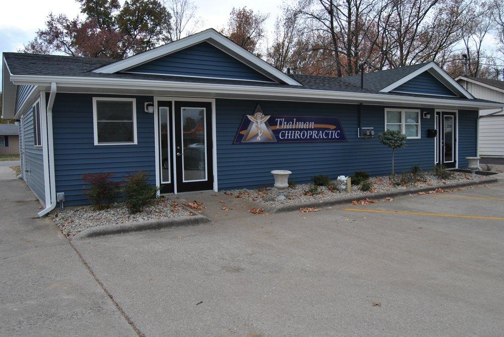 Thalman Chiropractic: 606 A Eastgate St, Carbondale, IL
