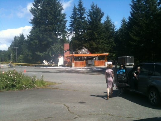 Photo Of Cassidy Country Kitchen Bc Canada Burnt To The Ground