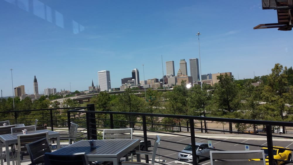 View from zanmai dining room of downtown tulsa yelp for Asian cuisine tulsa ok