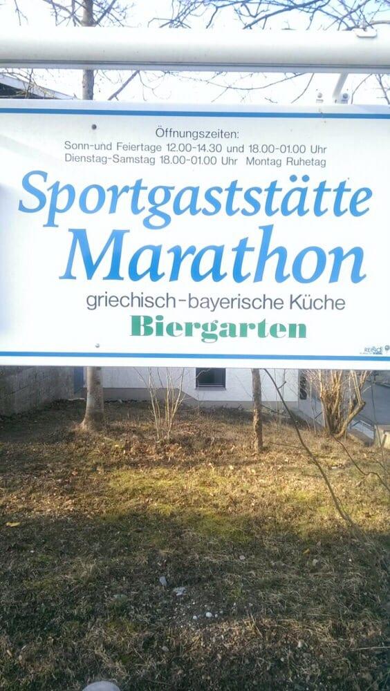 Marathon Restaurant: Sportplatzweg 8, Adelshofen, BY