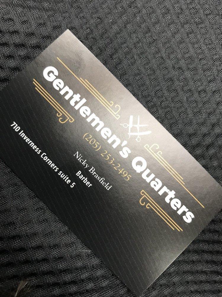 Gentlemens Quarters: 710 Inverness Corners, Birmingham, AL