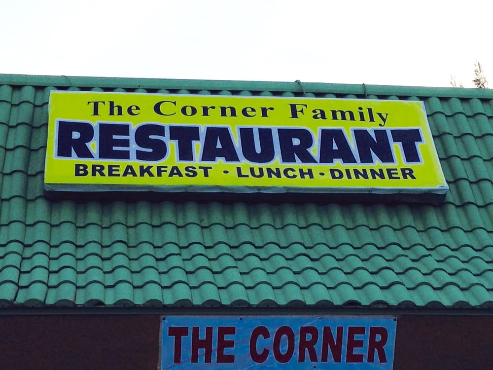 The Corner Family Restaurant: 3525 US Hwy 19, New Port Richey, FL