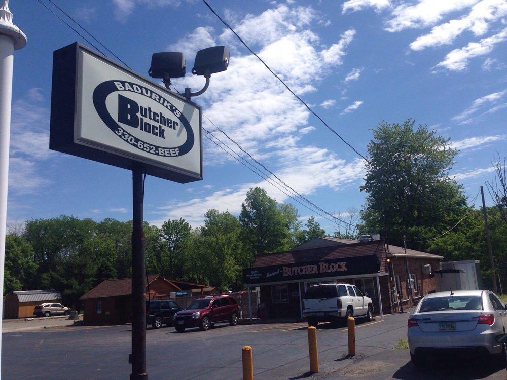 Badurik's Butcher Block: 3761 Main St, Mineral Ridge, OH