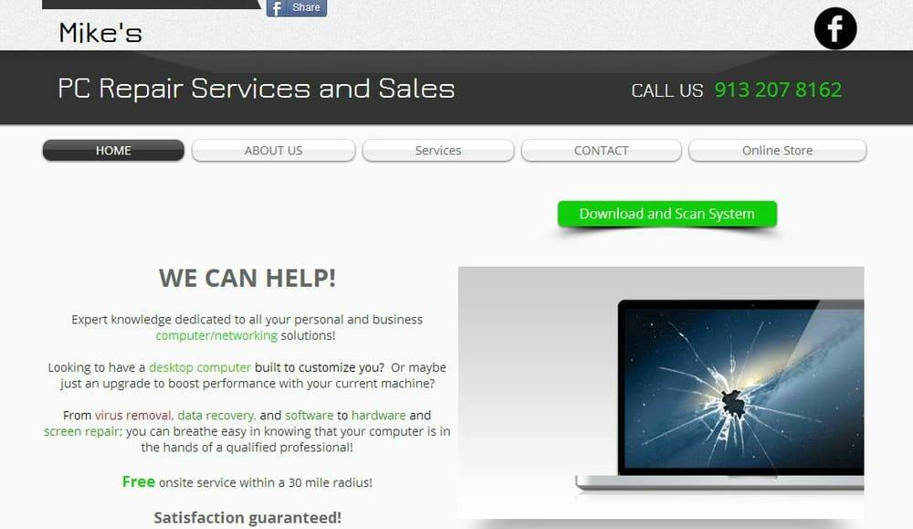 Mike's Computer Repair & Sales: Ottawa, KS