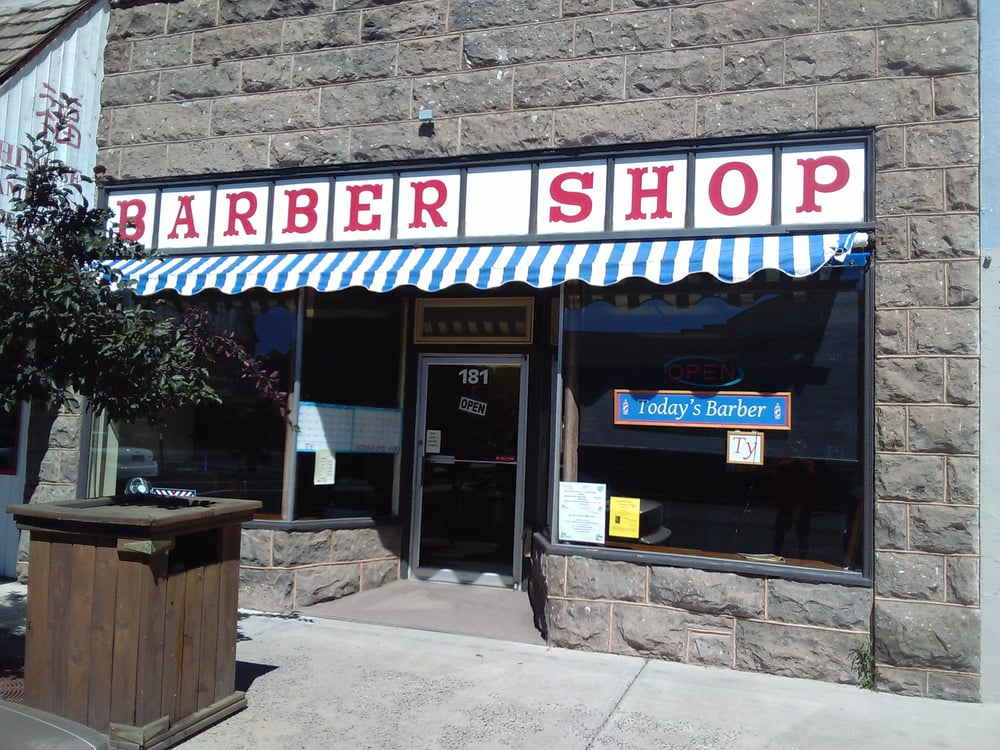 Barber Shop: 181 N Broadway Ave, Burns, OR